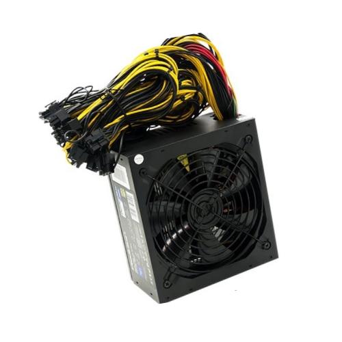 Qoltec ATX Power Supply 1000W 80 Plus Gold Bitcoin Miner