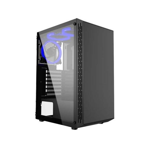 GEMBIRD Fornax 3000 computer case black USB3.0 3x blue fans