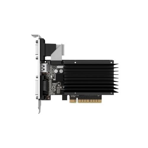 GAINWARD GeForce GT 730 SilentFX, 2GB DDR3, HDMI, DVI, VGA