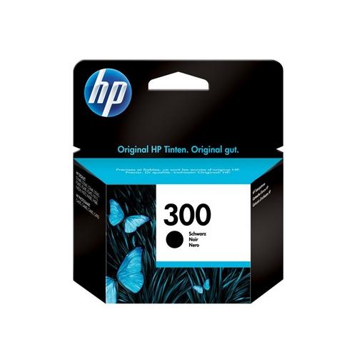 HP 300 4ml černá originál inkoustová cartridge