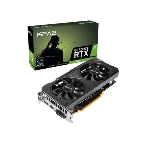 KFA2 RTX 2060 Ex 1-click OC, 6 GB GDDR6, DUAL FAN