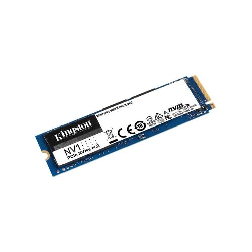Kingston NV1 500GB M.2 2280 NVMe SSD, 2100 / 1700 MBps