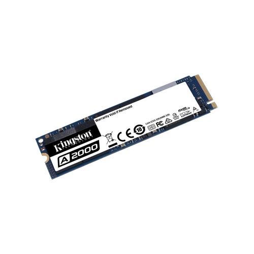 Kingston 250GB SSD A2000 M.2 2280 NVMe, 2000/1000 MB/s