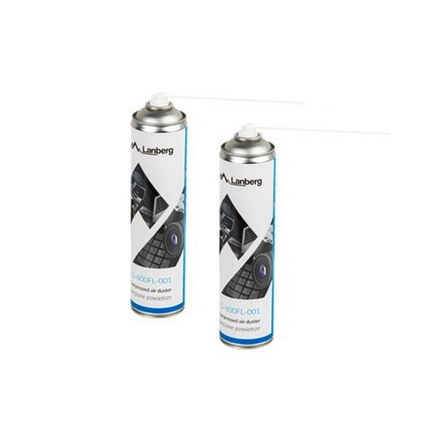 LANBERG Compressed air duster 600ml, CG-600FL-001
