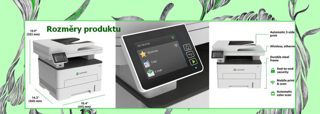 Lexmark MB2236i – Multifunkční tiskárna – Č/B