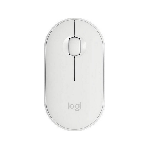 LOGITECH Pebble M350 Wireless Mouse – bílá – EMEA 1000dpi 100 g
