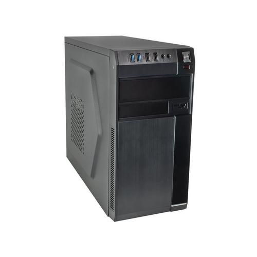 AKY AK729BK Micro ATX PC skříň AK729BK bez PSU zdroje