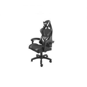 NATEC Fury gaming chair Avenger L black-white