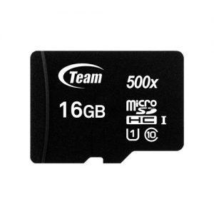 Team Group Paměťová karta Micro SDHC 16GB UHS-I +Adaptér