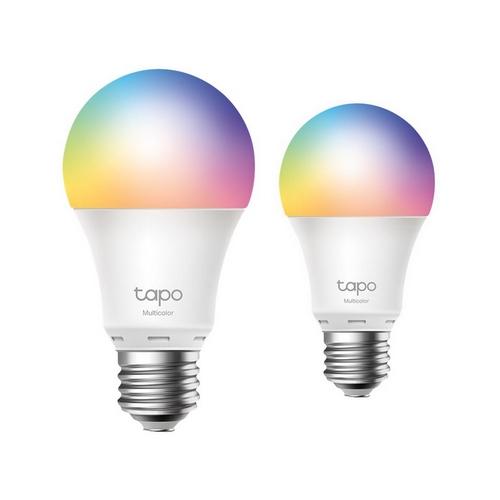 TP-LINK L530E Smart WiFi LED Multicolor 2.4 GHz E27 2-pack