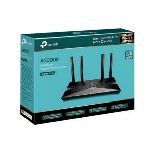TP-LINK Archer AX50 AX3000 Wi-Fi 6 Gigabit Router Dual-Core CPU