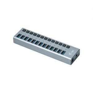 ITEC USB HUB 13 port + Power Adaptér 60W 13x USB 3.0 nabíjecí