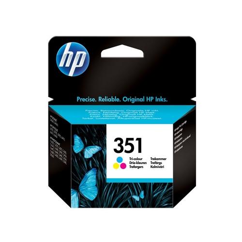Inkoustová náplň HP 351 tříbarevná – originál
