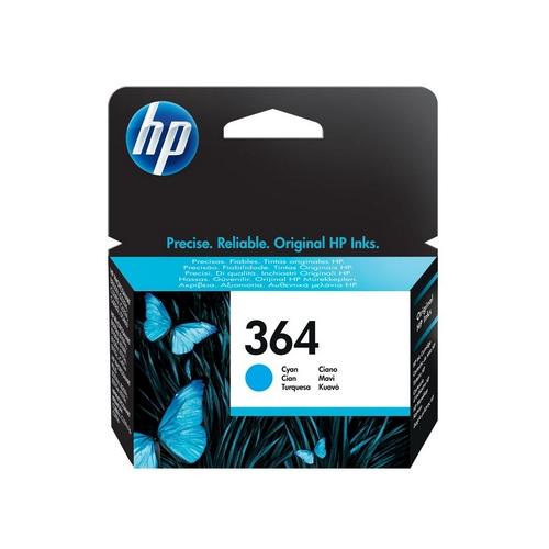 Inkoustová náplň HP 364 azurová