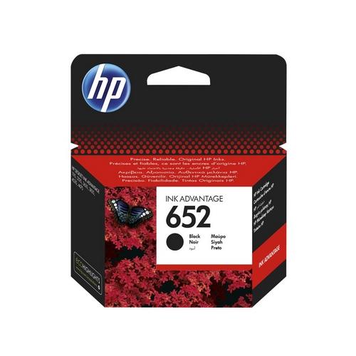 Inkoustová náplň HP 652 černá – originál