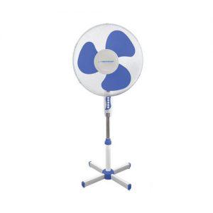Esperanza stojanový ventilátor, bílo-modrý
