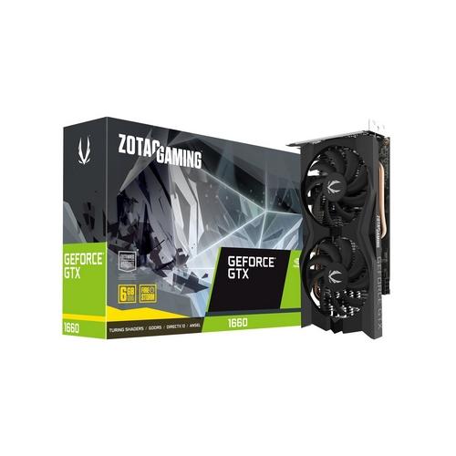 ZOTAC GeForce GTX 1660 Dual Fansink 6GB GDDR5 3xDP HDMI