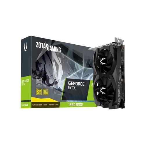 ZOTAC GAMING GeForce GTX 1660 SUPER 6GB GDDR6 192 bit Twin Fan